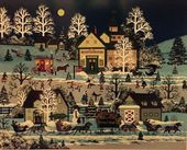 Check out our Jane Wooster Scott - Christmas Traffic Jam