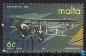 Postage Stamps - Malta - 100 years of air traffic