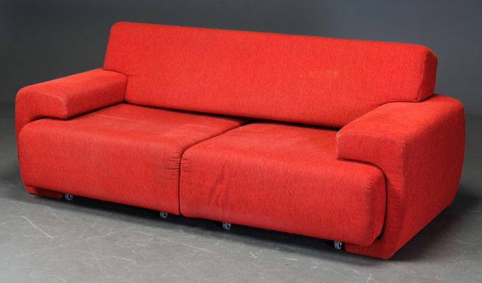 Rolf benz design 2 seats sofa chaise longue catawiki