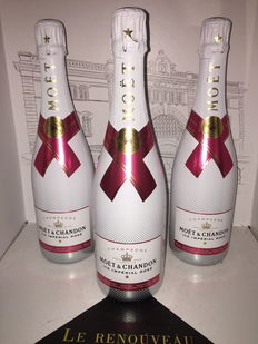 Moët & Chandon Ice Imperial Rose champagne - 3 bottles (75cl)