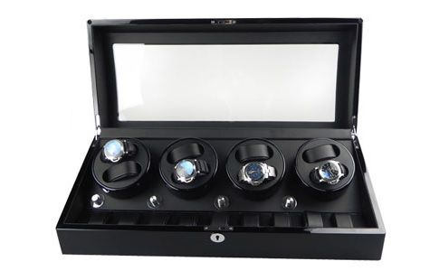 Premium + Watch winder for 8 automatic and 9 quartz timepieces NEW
