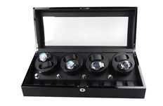 Premium + Watch winder for 8 automatics and 9 quartz timepieces. NEW.