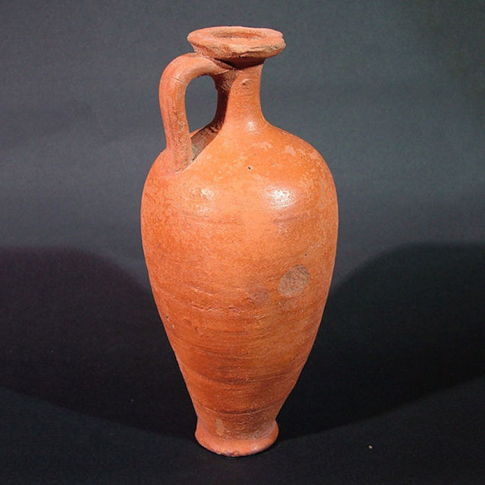 Ancient egyptian Tall flask - 19 cm