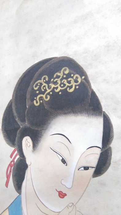 A scroll painting made after Zhang Daqian - China - late 20th century