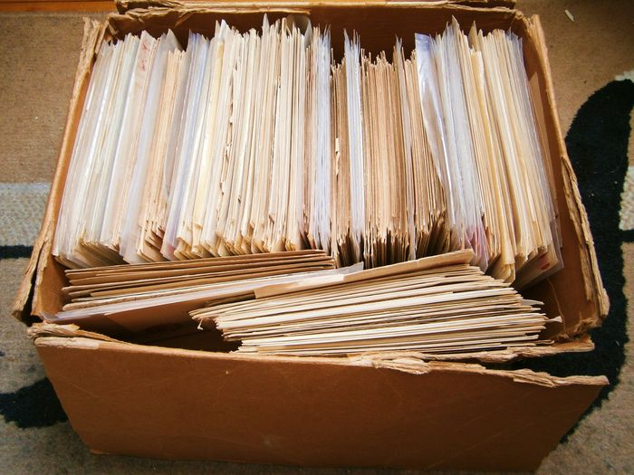 Big lot of USA postal history.