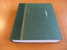 European countries – Disorganised collection in a blank album, with Switzerland, Spain, Soviet Union and more.