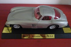 Revell - Scale 1/12 - Mercedes-Benz 300 SLR 1954 - Silver