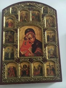 Greek Byzantine Icon - 20th century