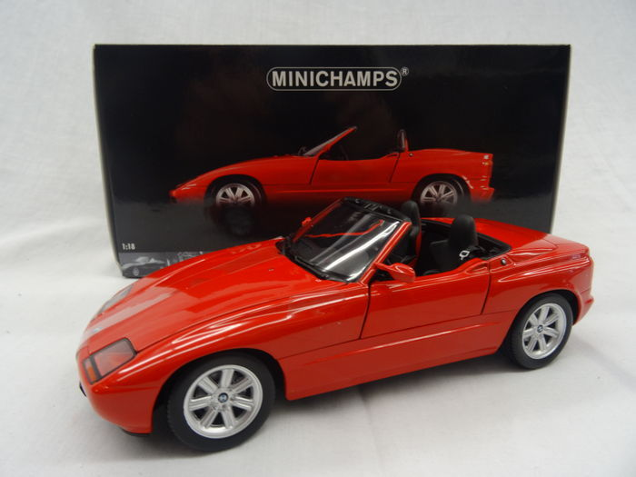 minichamps scale 1 18 bmw z1 1988 colour red catawiki. Black Bedroom Furniture Sets. Home Design Ideas