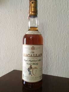 The Macallan 7 yo Single Highland Malt Whisky Armando Giovinetti Special Edition.