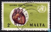 Postage Stamps - Malta - World Heart Month