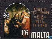 Postage Stamps - Malta - Arts Council Exhibition Europe