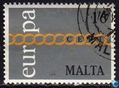 Postage Stamps - Malta - Europe – Rings