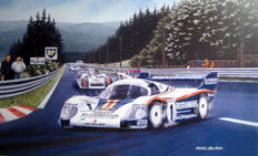 """Return of the Master"" Ickx–Mass Porsche 956 Spa 1000 km 1982"