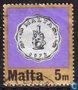 Postage Stamps - Malta - New currency