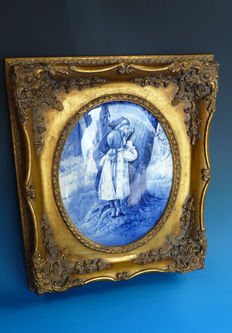 Royal Doulton - Victorian 'Babes in the Woods' plaque