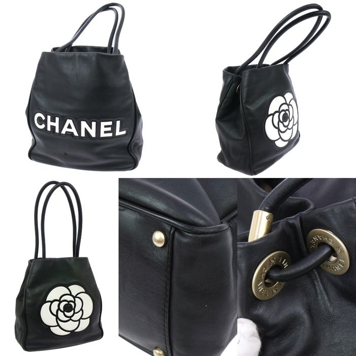 chanel camellia tote tasche catawiki. Black Bedroom Furniture Sets. Home Design Ideas