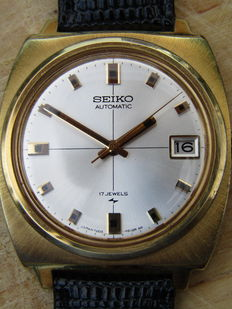 Seiko automatic men's wristwatch from the 1970s