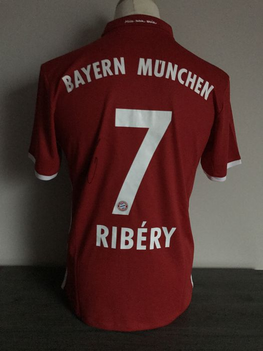low priced debd4 ccb82 Hand signed Fc Bayern Munchen home jersey 2016-2017 ...