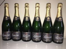 Champagne Lanson BLACK Label Brut – 6 bottles (75cl)