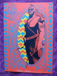 13th Floor Elevators 1966 San Francisco Family Dog Poster