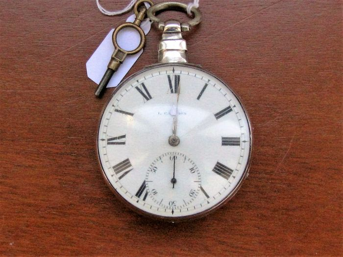 Campion, London Spindle pocket watch, signed, 1778 ...