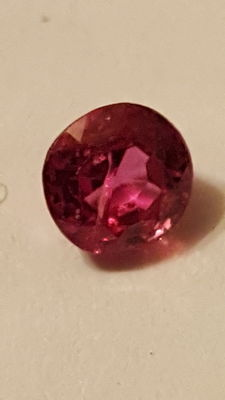 Ruby – Purplish red – 0.70 ct