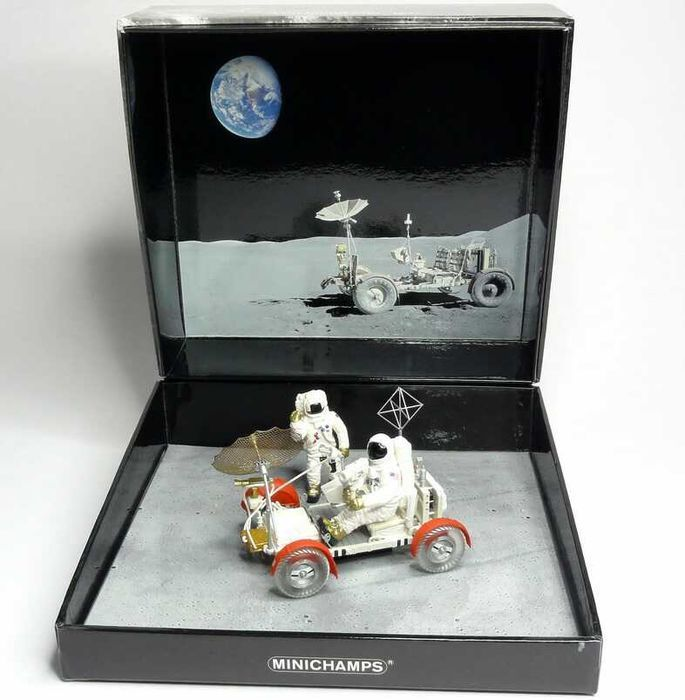 Minichamps - Scale 1/43 - LRV Moon Car Apollo 15 1971