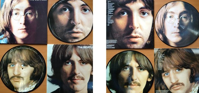 "The Beatles  2 LP  Picture Disc Set  ""The Beatles  /  The White Album""  -  Collectable Unplayed Beatles Vinyl !"