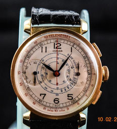 Jaeger chronograph - Mens watch - 1930's