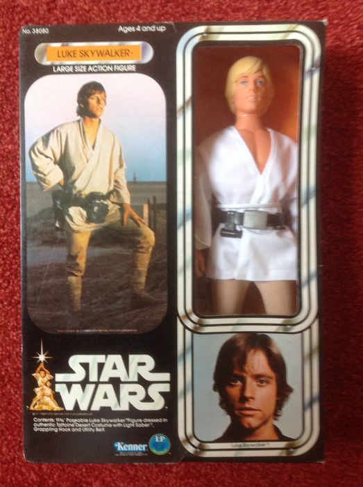 Star wars vintage star wars luke skywalker grande - Grande figurine star wars ...