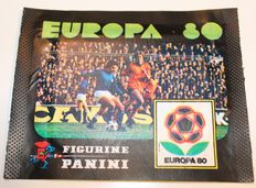Panini - EUROPA 80 - Original unopened pack - The very first UEFA European Championship to which Panini dedicated a sticker album