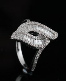 14kt diamond ring approx. 0.65ct