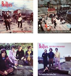 "The Beatles  Lot Of Two LP's  ""How Pink Is Your Panther""  &  ""The Complete Rooftop Concert"""
