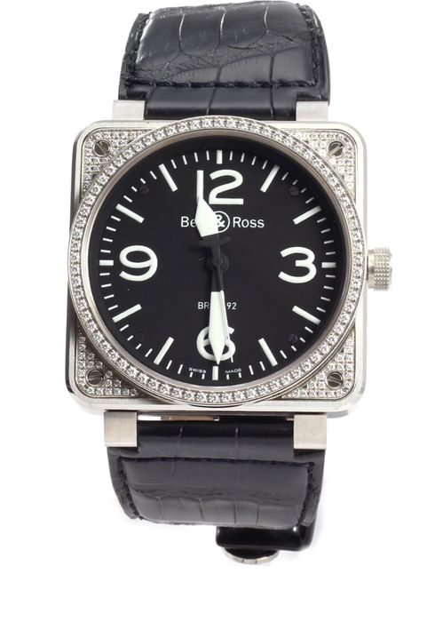Bell & Ross - 01 92 Aviation Military Diamonds - BR 01-92 DIA - Unisex - 2016