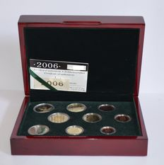 "Luxembourg - Year collection 2006 including 2 Euros ""Duke Henri & hereditary grand Duke Guillome."""