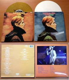 "David Bowie Lot Of Two ( 2 ) LP's ""Low"" & ""Low Live"" (First Live Performance Ever)"