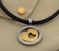 Bvlgari – gold with steel necklace