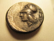 Antique Greece - Corinthian - Corinth AR Stater, 347-307 B.C.E.