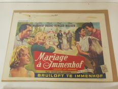 Cinema posters - Belgian in Dutch and French originals - 10 posters in total - 1960's
