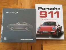 Porsche Museum book - 911 x 911 - 50 Jahre 911 - multi language edition (English, French, etc) + Porsche 911: 50 years of sports car culture