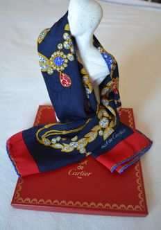 """must de Cartier Paris"" - Scarf with case"