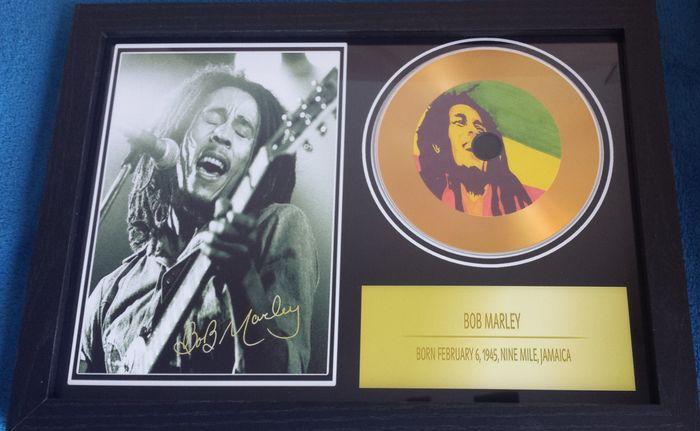 Bob Marley - Framed Record - Catawiki