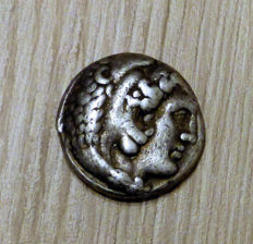 Antique Greece – AR Tetradrachme, Alexander the Great(336-323 BC.). Phoenicia, Arados, 323-320 BC.
