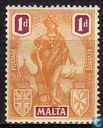 Postzegels - Malta - Heraldiek