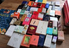60 booklets perfume with miniature bottles