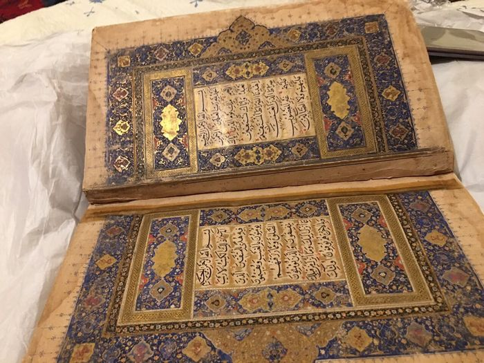 Mughul India and central Asia 16th century Quran