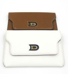 Delvaux – Lot of two wallets or document-holders