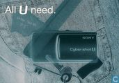 "B02265 - Sony Cyber-shot ""All U need."""