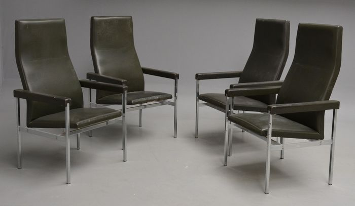 Kay Bæch Hansen for Fritz Hansen – set van 4 vintage chairs